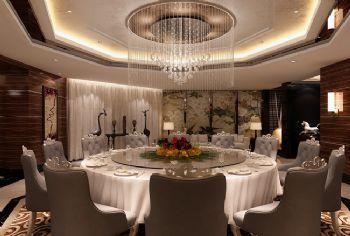 大型酒店餐厅空间设计方案