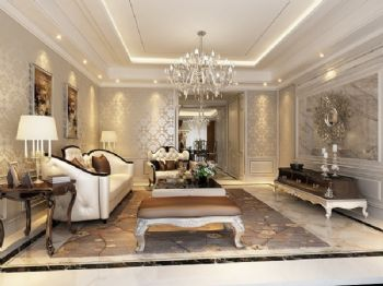 法式新古典样板房设计案例