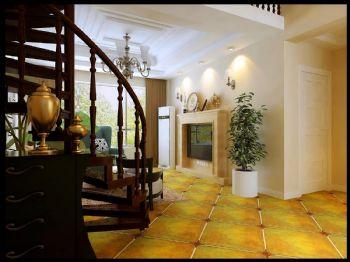 香山美墅-美式风格-三居室