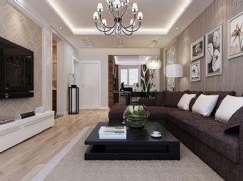 盛世华庭现代风格二居室