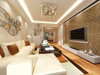 上海城现代风格二居室