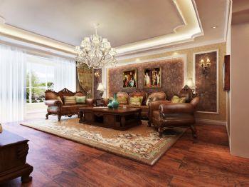 125平美式三居设计欣赏