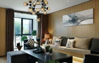 中科紫枫现代简约风格四居室