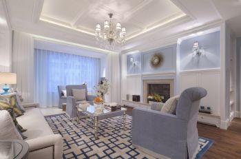 和平郡府美式风格三居室