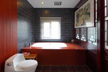 新中式风格别墅设计案例中式卫生间装修图片