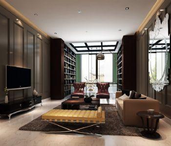 500平米高品质三层别墅设计