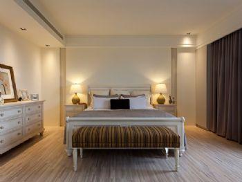 明亮简约大户型设计简约卧室装修图片