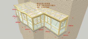 D2611阳光房设计效果图——简混搭风格别墅