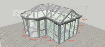 D2807陽光房設計效果圖——簡
