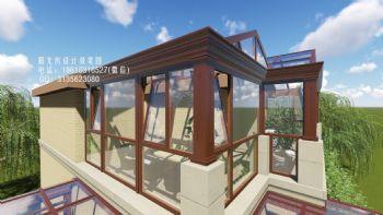 D2922陽光房設計效果圖