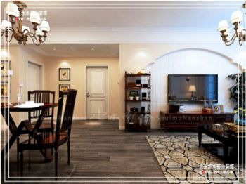 银鹭万树城——经典户型设计案例集锦现代风格三居室