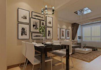 中海净月华庭12现代简约风格二居室