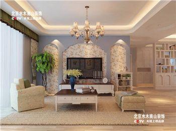 【北京水木南山裝飾淮南公司】銀鷺萬樹城-地中海風格