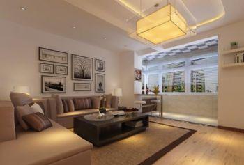 一品红城现代简约风格二居室