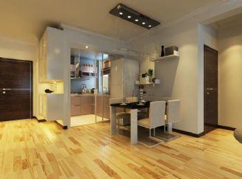 橡树湾现代简约风格二居室