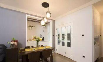兰州实创装饰78㎡现代风两居室现代风格小户型