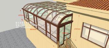 D3200阳光房设计效果图——简