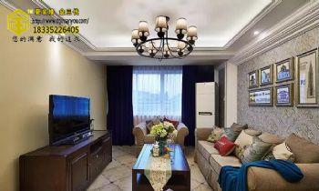 《金三优》把美剧生活搬回家,110平美式三居够漂亮!