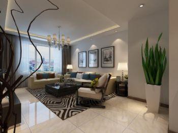 远创紫樾台15现代简约风格二居室