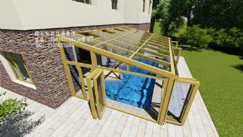 SPA泳池阳光房设计效果图