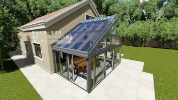 断桥铝阳光房设计效果图欧式风格别墅