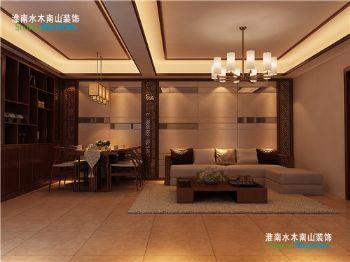 云景豪庭——简中式风格中式风格小户型