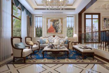 山东济南华山珑城别墅项目欧式风格别墅