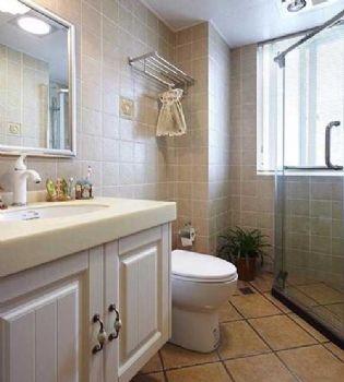120平米輕美式風格裝修美式風格三居室