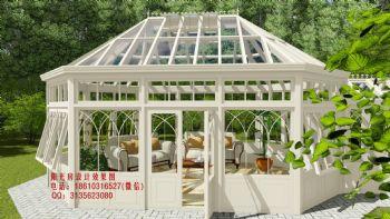 英式阳光房设计效果图古典风格别墅