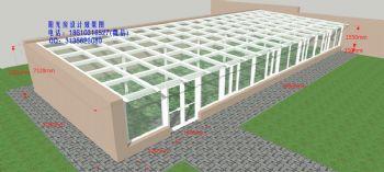日光温室设计效果图简田园风格公寓