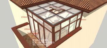 D4000露臺陽光房設計效果圖簡簡約風格公寓