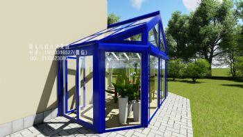 德式阳光房设计效果图欧式风格复式