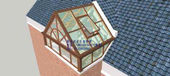 D7002双坡阳光房设计效果图简东南亚风格复式