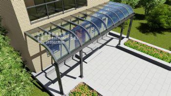 玻璃雨棚设计效果图东南亚风格小户型