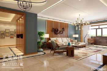 【海天汇美装饰】輕妝淡色,237㎡現代簡約之家现代风格四居室