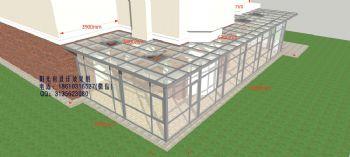 D5000庭院阳光房设计效果图简现代简约风格公寓
