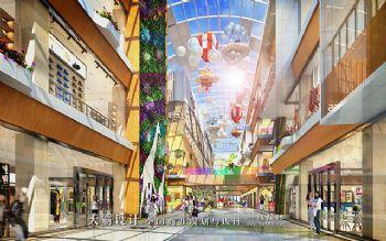 时尚城市综合体装修效果图引来众多目光