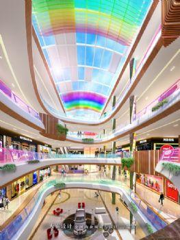 城市综合体设计效果图高清大图之彩虹城购物乐园