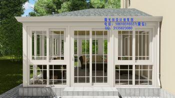 德高瓦阳光房设计效果图简约风格别墅