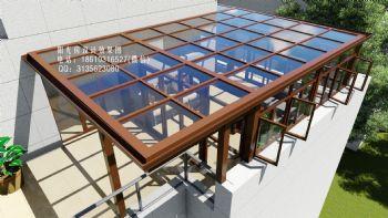 D6106露台阳光房设计效果图古典风格大户型