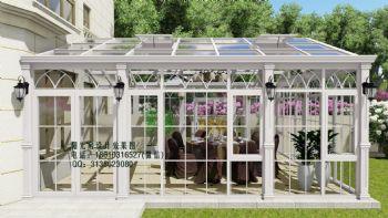 D7713欧式 阳光房设计效果图欧式风格大户型