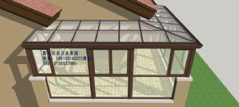 D9616露臺陽光房設計效果簡