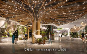 商业空间装修设计效果图原创设计案例