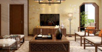 凡尔赛颐阁168㎡中式风格四居室