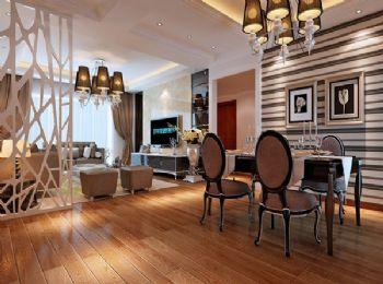 【瀚林澜山】74平方米欧式风格装修欧式风格二居室