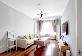 【久栖设计】北京富力惠兰美居丨如沐自然混搭风格二居室