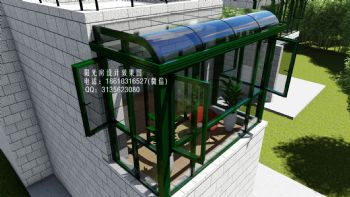 D5708上海阳光房设计效果图