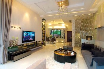 合铁家园-110平米-现代简约风格现代风格三居室