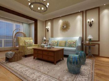 盛唐城新中式中式风格客厅