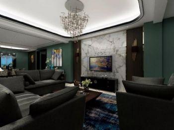 盛唐城新中式中式风格三居室